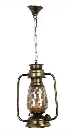 Lantern Style Lamp - Ceiling