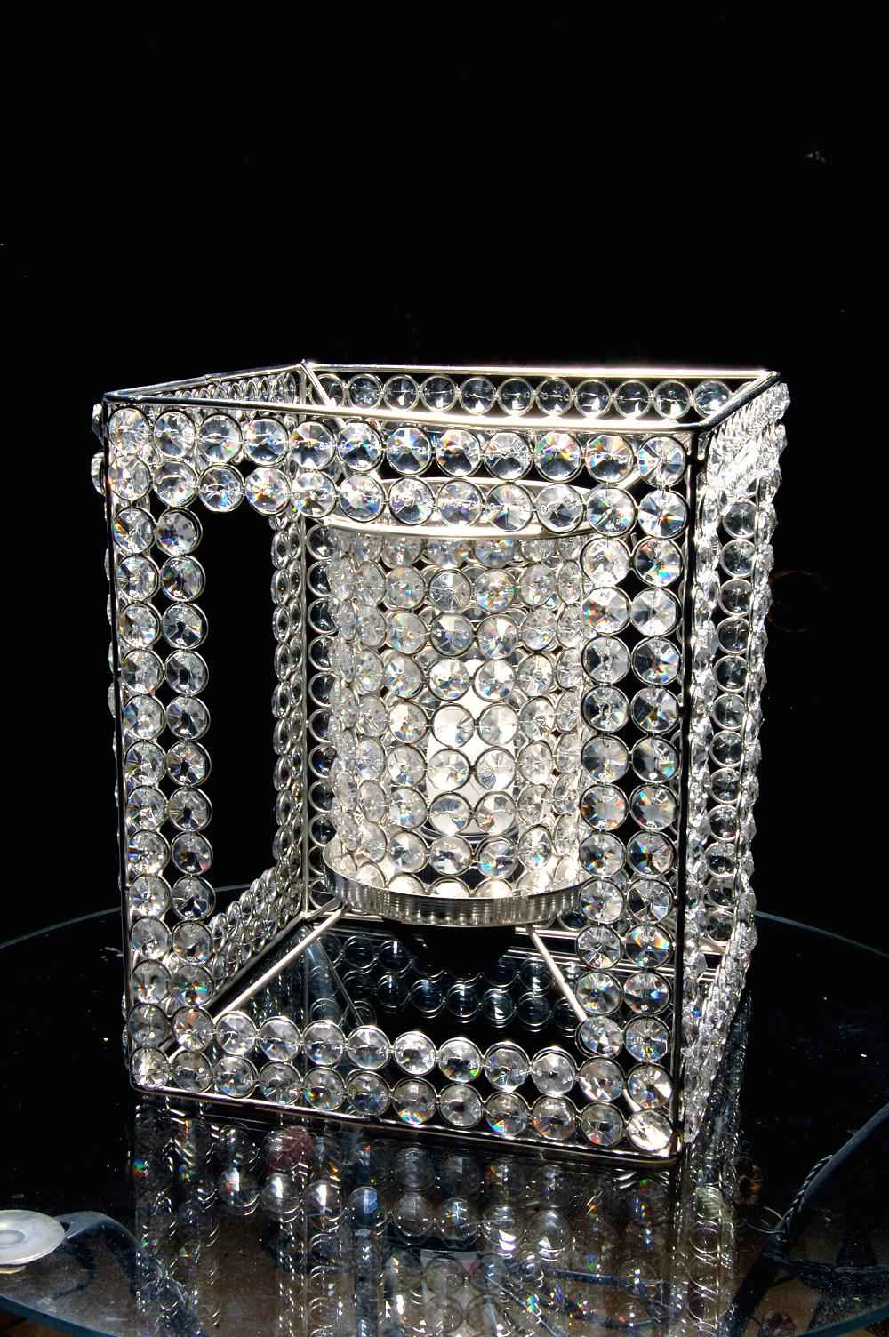 Electric Crystal Lamp