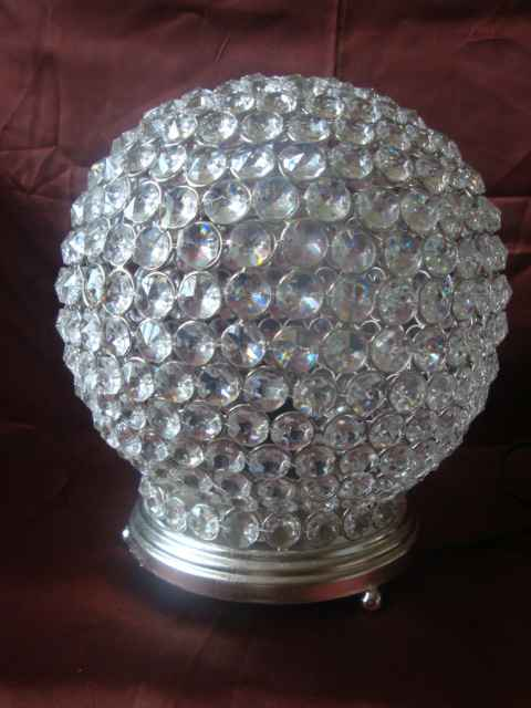 Crystal Lamp - Round
